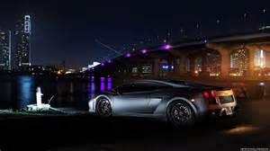 lamborghini car city light hd wallpaper new hd wallpapers