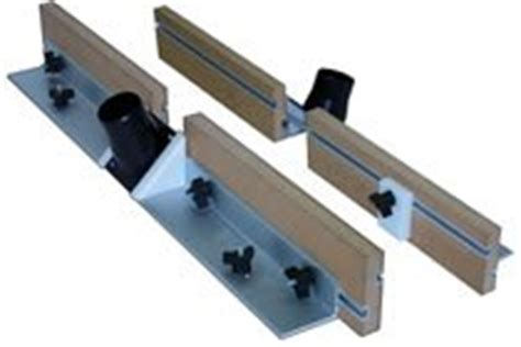 peachtree woodworking deluxe router table fence kit by peachtree woodworking