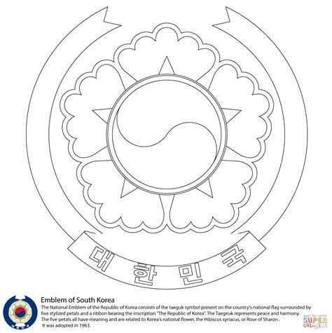 coloring book korea south korea free coloring pages