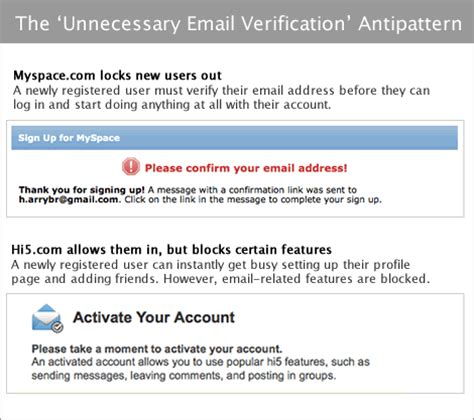 account activation email template five ux antipatterns to avoid when designing log in