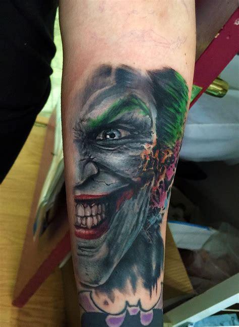 joker tattoos joker batman joker portrait portfolio