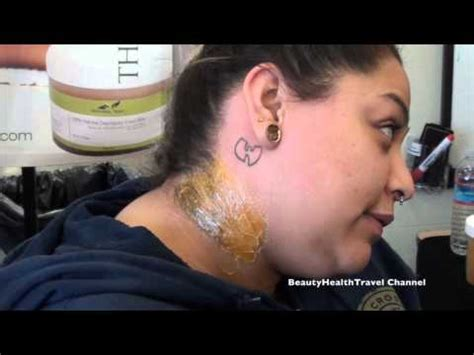 tattoo on hairline of neck wax sideburns hairline tattoo and back of the neck
