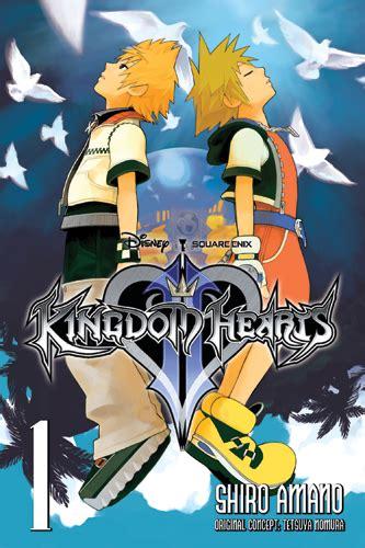 kingdom hearts yen press