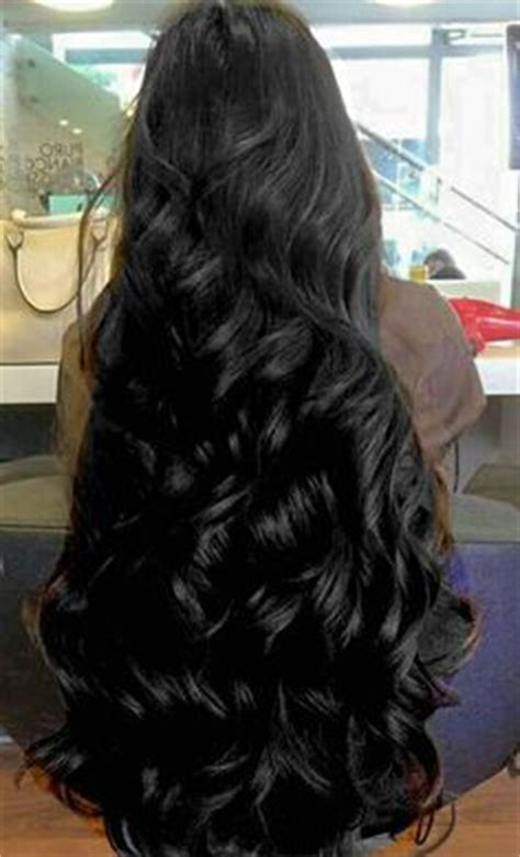 photos of lovely dark black long silky hairs of indian chinese girls in braided pony styles beautiful long shiny hair uℓviỿỿa s beautiful