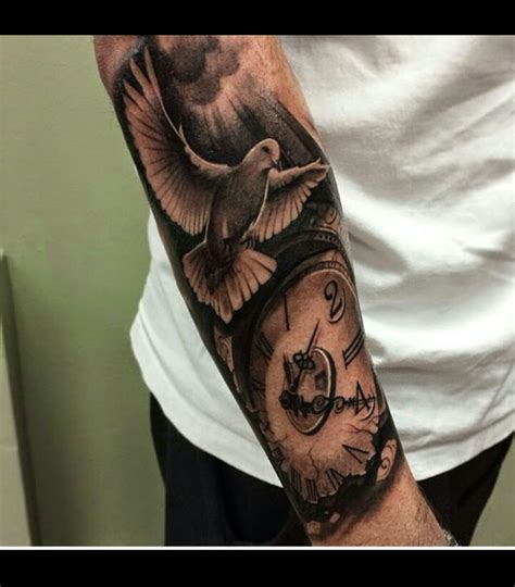 tattoo hand sleeve dove arm tattoo arm tattoos pinterest arm tattoo