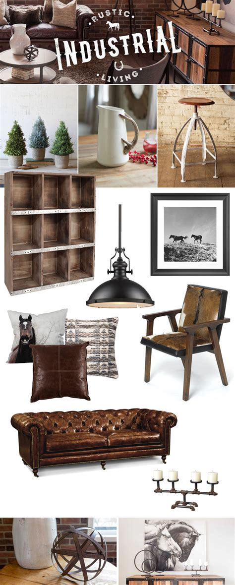 industrial home decor ideas rustic industrial decor