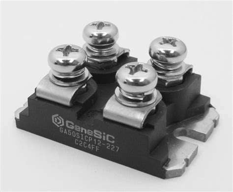 power resistor sot 227 all silicon carbide junction transistors diodes offered in a 4 leaded mini module genesic