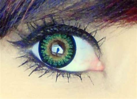 geo princess mimi apple green wmm 303 circle lenses geo bambi vert wmm 303 lentille contact verte solution