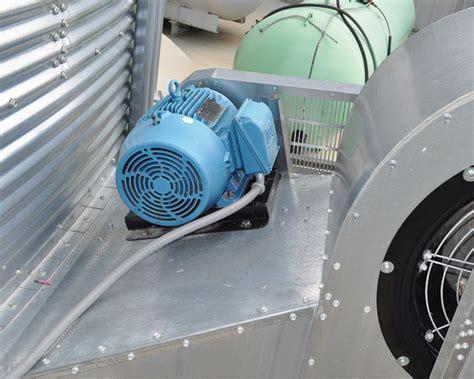 grain bin fan motors double wide double inlet aeration fans brock 174 systems