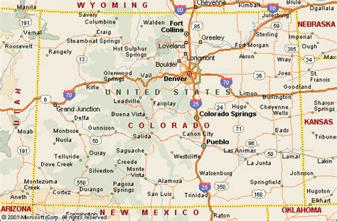to colorado map colorado family travel