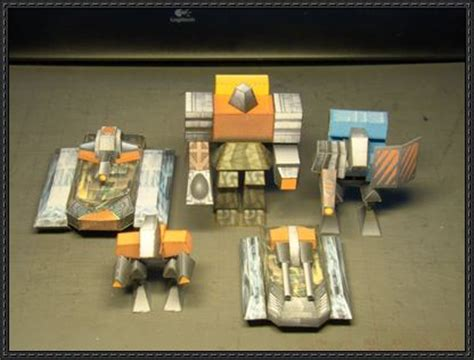 Total Papercrafts - total annihilation and arm commanders free paper