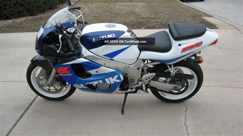 Suzuki Gsxr 600 Bike 1998 Suzuki Gsx R600 Motorcycle