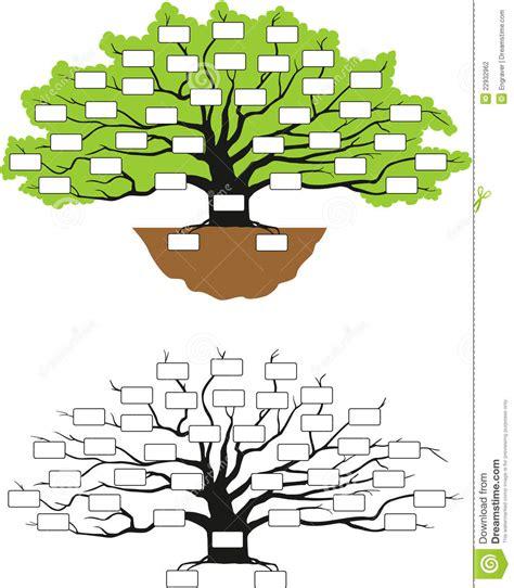 Stammbaum Vektor Abbildung Bild Von Kultur Sozial Ursprung 22932962 Family Tree Stock Images Royalty