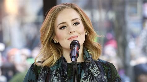 adele early photos adele performs million years ago on today show talks