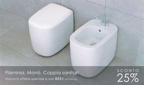 flaminia wc mono flaminia mon 242 coppia sanitari
