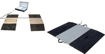Timbangan Mobil Portable uji kendaraan bermotor