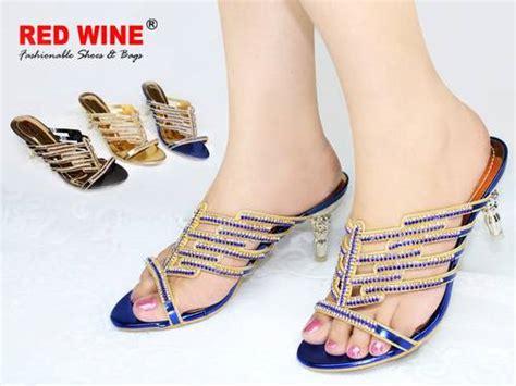 Sepatu Merk Wine dinomarket pasardino sandal wanita redwine o12141 9