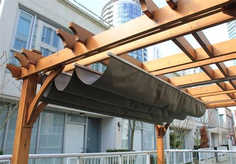 House Awnings Retractable Canada by Pergola Cover Pergola Pergolas And Pergola