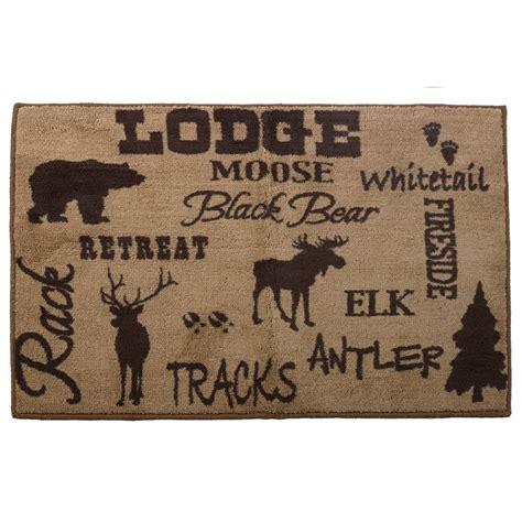 Bathroom Rugs Lodge Lodge Kitchen And Bath Rug