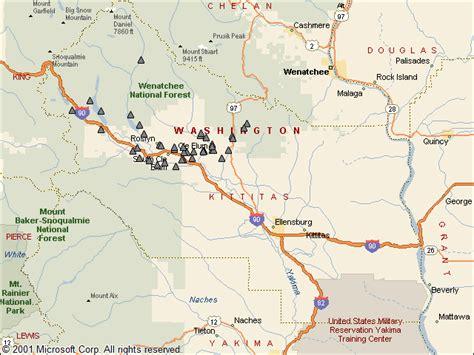 Kittitas County Records Kittitas County Map
