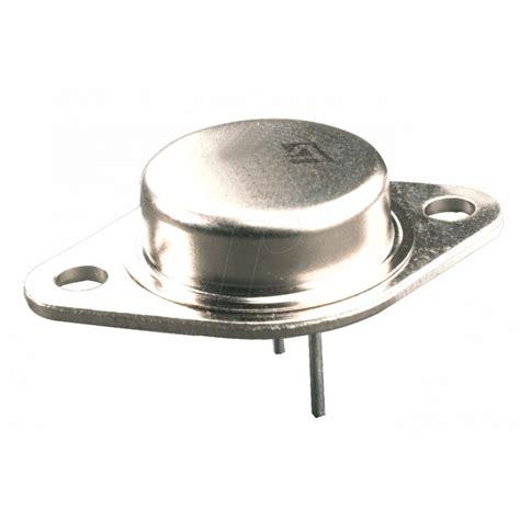 transistor 2n3055 npn transistor 2n3055 npn to 3 s electronic