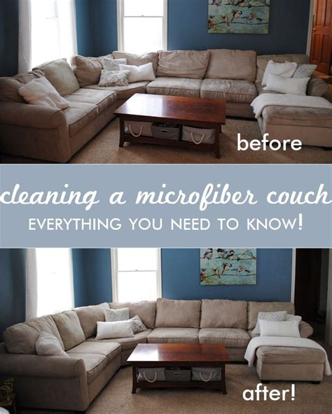clean microfiber sofa 17 best ideas about cleaning microfiber on