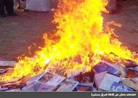 burned in books 8 000 books and manuscripts lost after bombs mosul