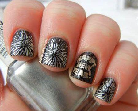 new year nail design 2015 happy new year nail on happy new year new