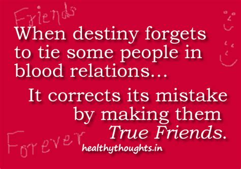 thoughts for friends best friends are made by destiny quotes friendship