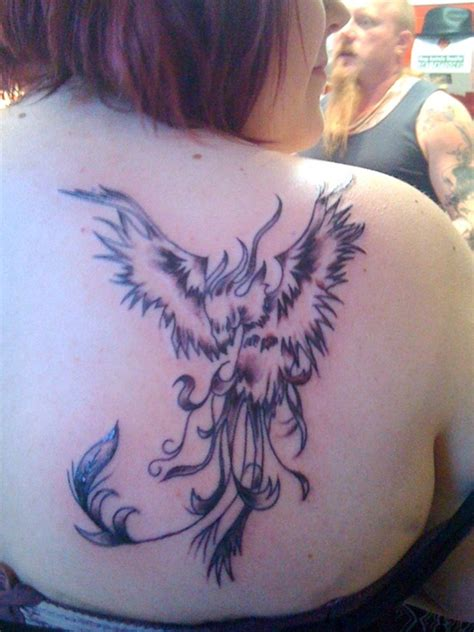 tattoo phoenix for girl unique phoenix tattoos designs for girls