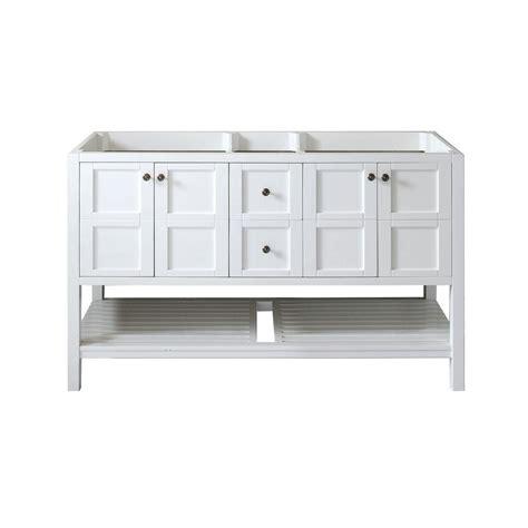 60 Inch Vanity Cabinet by Avola 60 Inch Transitional Bathroom Vanity Cabinet White