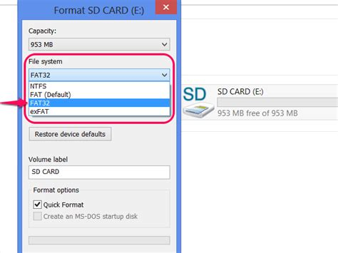 format raw file system memory card how to format an sd card to fat32 it still works