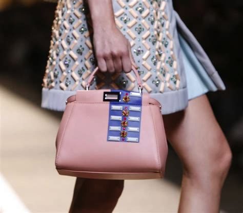 L Fendi By The Way Shw Summer Tas Wanita Cantiktas Import fendi summer 2015 runway bag collection spotted fashion