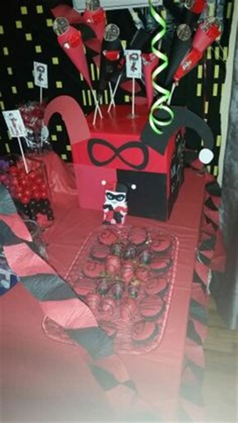 harley quinn themed birthday party harley quinn joker theme my cakes ohsoluvly creations
