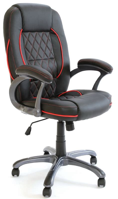 Biz Chairs by Charles Premium Quality Executive Chair In Black Business Office Seat With Tilt Lock