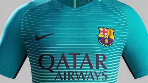 Barcelona 3rd 2017 Set barcelona launch 2016 17 third kit set for debut in