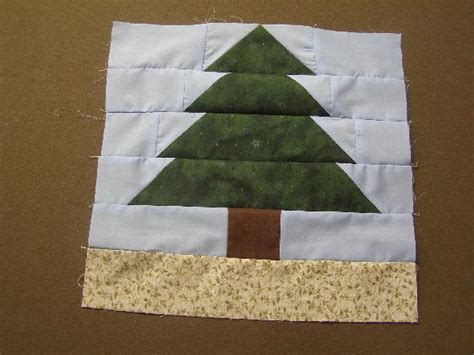 Tree Quilt Block by Quilt Block Of Tree Shape