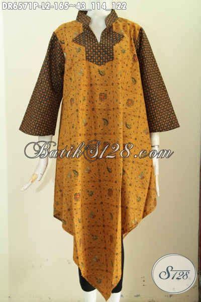 Dress Cocok Buat Ke Kantor dress batik untuk acara formal pakaian batik wanita model