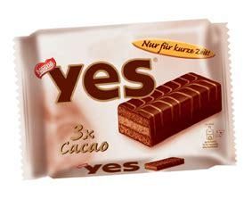 yes kuchen yes cacao nur f 252 r kurze zeit zur 252 ck lieblingsschokolade