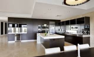 modern kitchen interiors modern open plan kitchens beautiful modern home