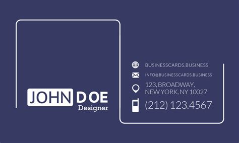 front and back business card template illustrator business cards glossy front and back gallery card design