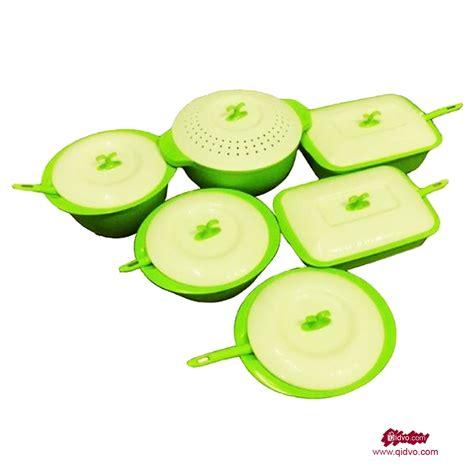 Promo Asvita Emerald Set Peralatan Alat Makan Asvita Emerald Paket Lengkap 6