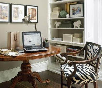 decorating small home office cocooning dans le sud notre sous sol blogue lesventes ca