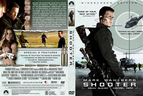 the shooter the shooter dvd custom covers 13389custom shooter