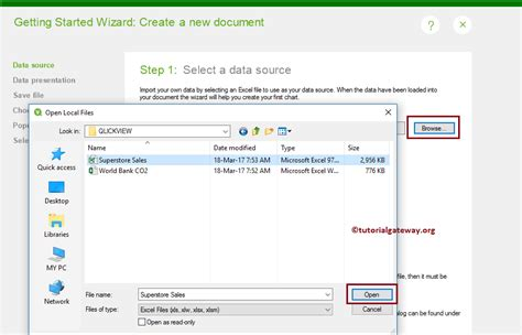 qlikview programming tutorial create new qlikview report using wizard 5