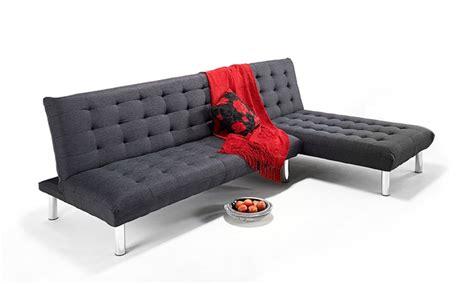 milan corner sofa bed milan corner sofa bed groupon goods