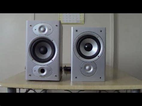 polk audio monitor 30 and rti4 bookshelf speakers
