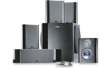 polk audio rm7600 home theater speaker system at