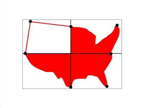 how to draw the usa map how to draw a map of the united states of america