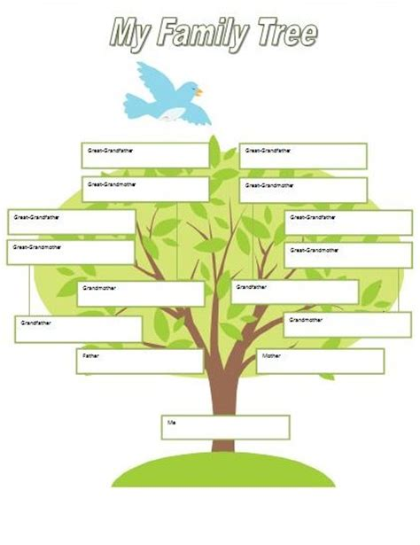 printable family tree pages printable fill in family tree for kids family tree